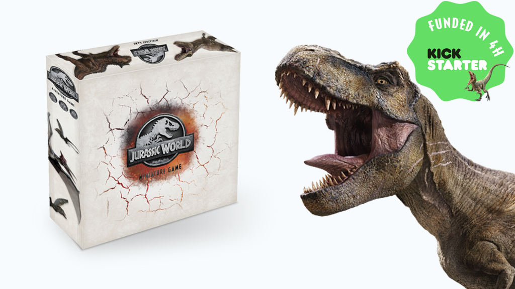 Jurassic World™ Miniature Game by Cimmeria Projects