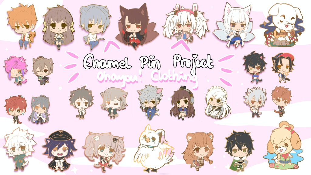Project image for Ohayou! Good Boys (& Girls) Enamel Pin Project