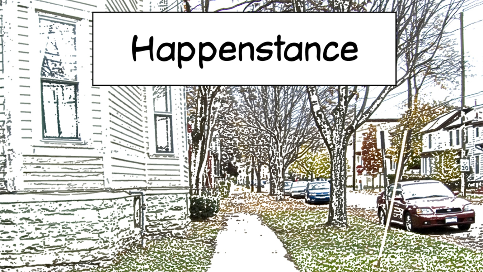 A print version of the online photographic novel, Happenstance: a story about two simultaneous, opposite religious transformations.Now available for purchase! Order here: