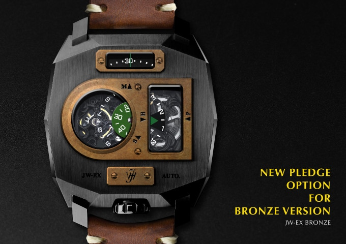 JW-EX bronze PLEDGE OPTION HKD$3980