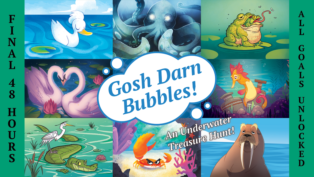 Gosh Darn Bubbles! project video thumbnail