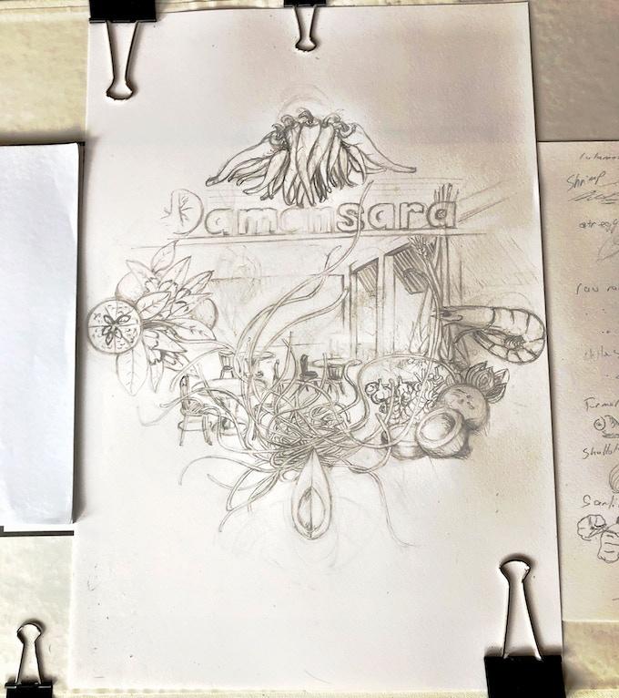 Damansara Bandana Sketch