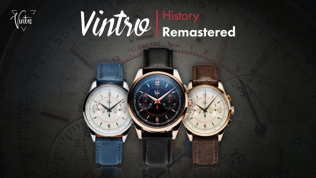 VINTRO Watches - History Remastered project video thumbnail