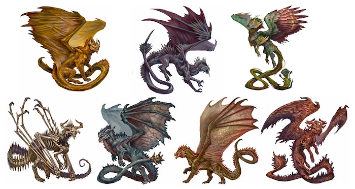 dragons included in this bundle