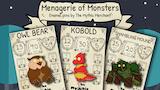 Menagerie of Monsters Enamel Pins thumbnail