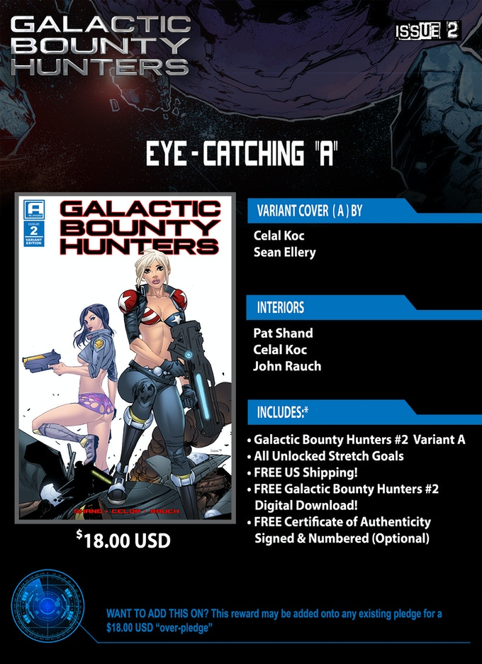 Galactic Bounty Hunters #2 by Molly Schofield and Louis