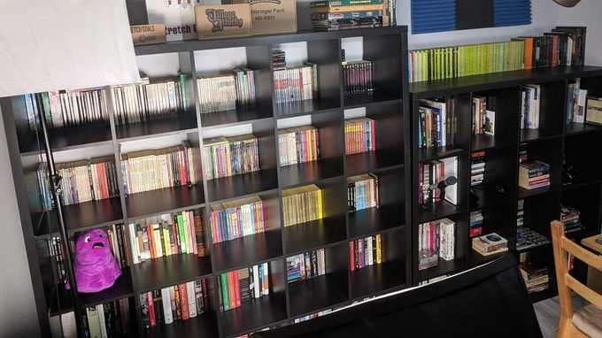 Game book collection.