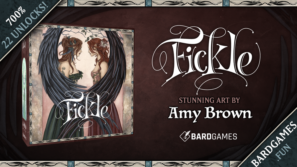 Fickle- A fairy board game featuring the art of Amy Brown project video thumbnail