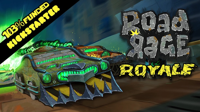 Road Rage Royale is a tactical race car combat game for 2 to 4 players. Early Access on PC now on Steam.