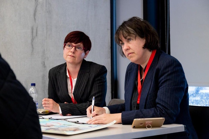 Sharon Bennett and Sarah Dixon