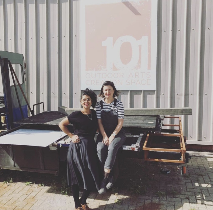 Yara El-Sherbini and Davina Drummond
