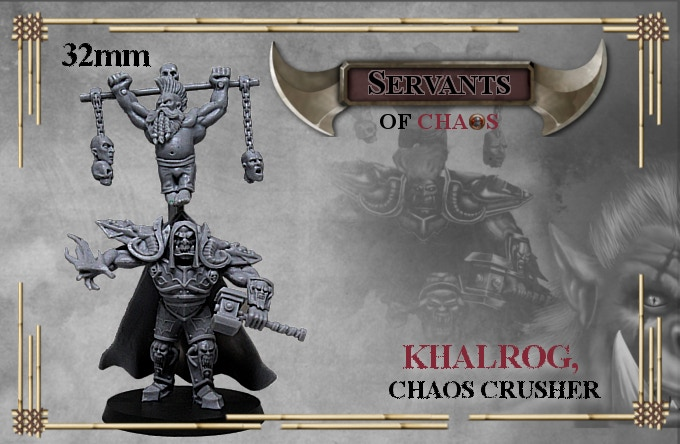 When funding reaches 1500€ Khalrog will be unlocked as 6€ add on only.