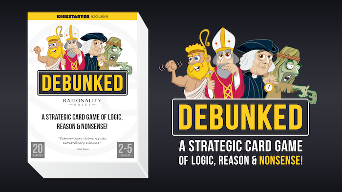 A highly strategic card game of logic, reason & nonsense!