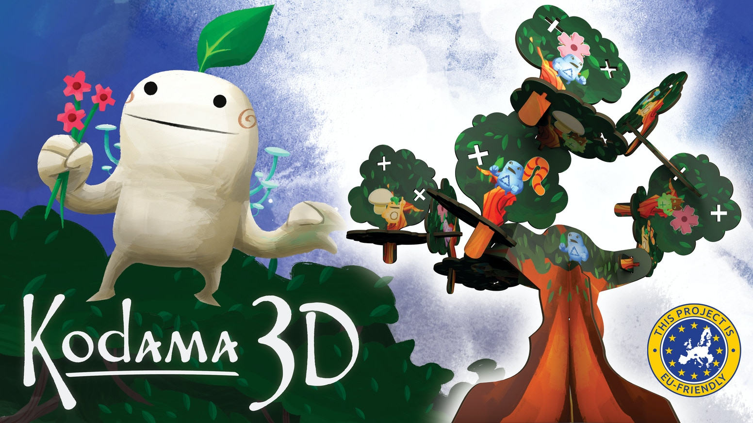 An inTREEguing 3D version of Kodama: The Tree Spirits!