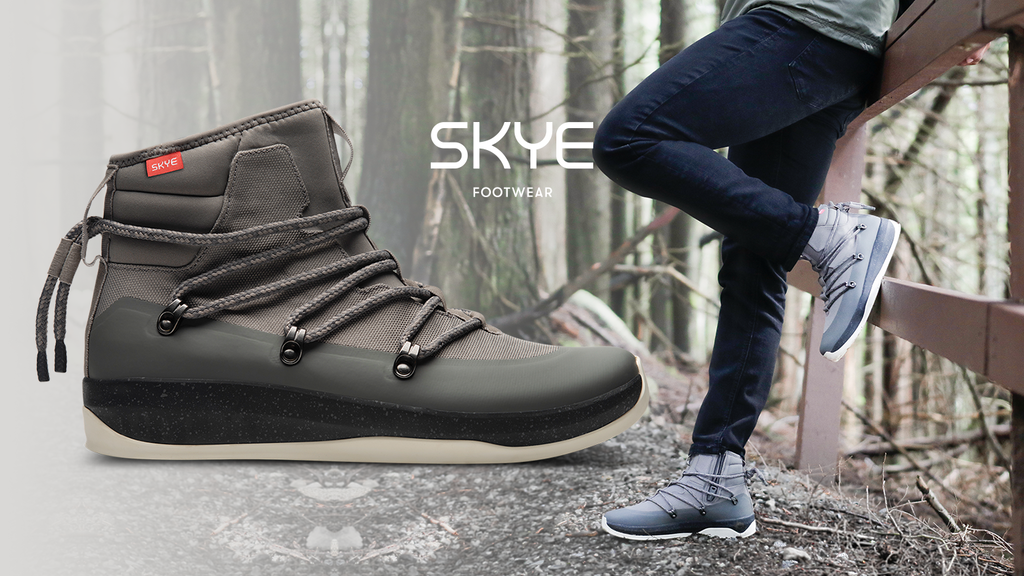 SKYE Footwear: The New Ultimate Sneaker-Boot Hybrid project video thumbnail