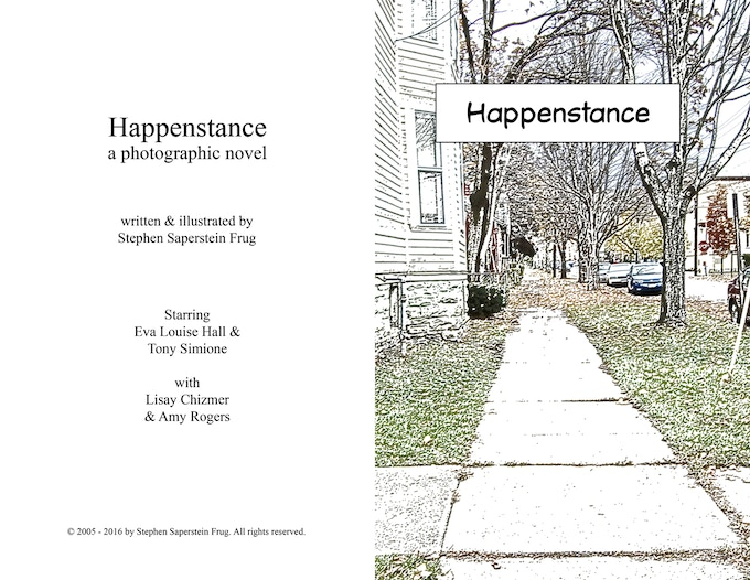 The title page of the online edition of the graphic novel