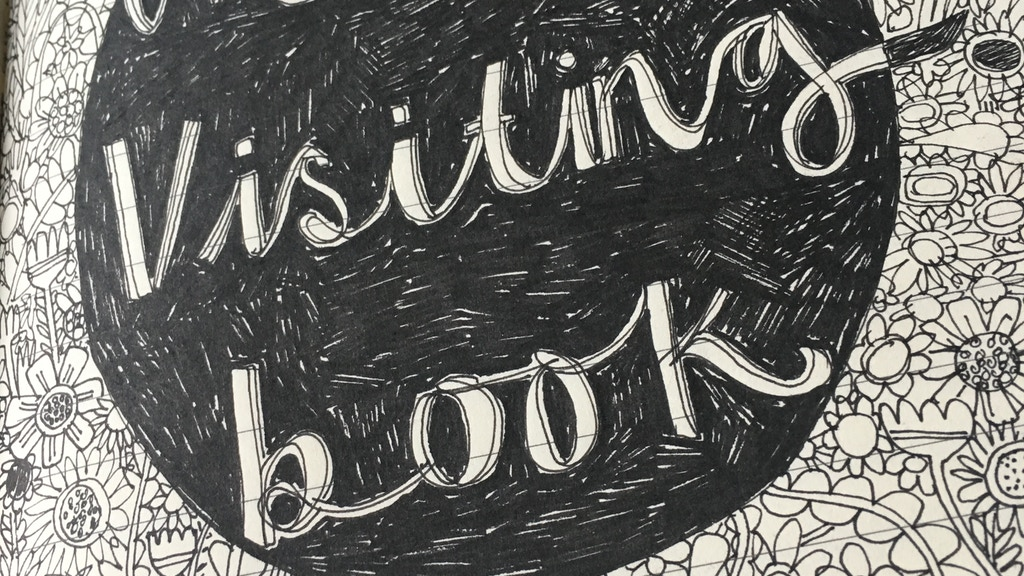 The Visiting Book project video thumbnail