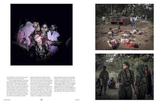 Amnesty International (Netherlands) featured Centralia in their Wordt Vervolgd magazine recently.