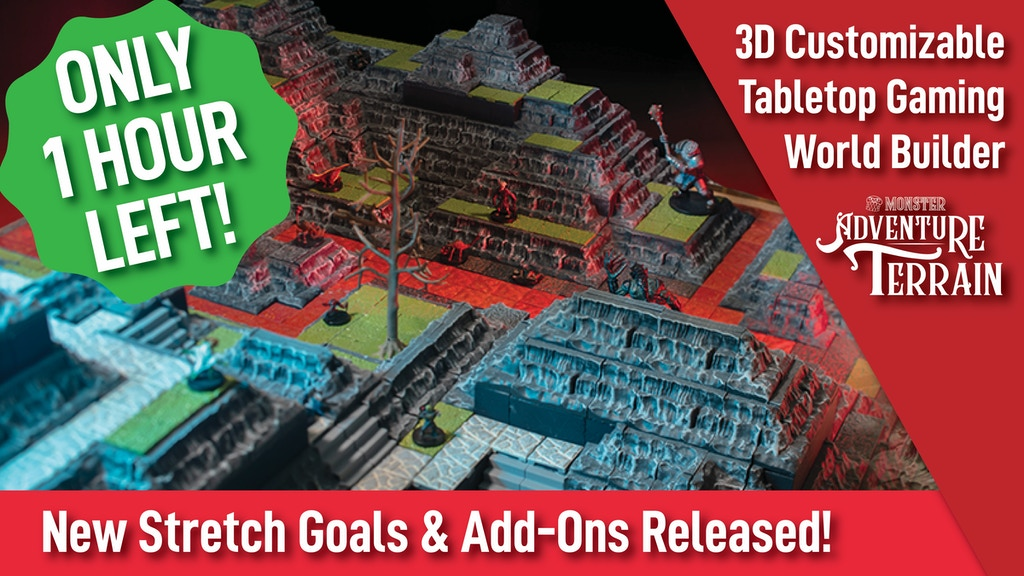 Monster Adventure Terrain- 3D Customizable D&D World Builder project video thumbnail