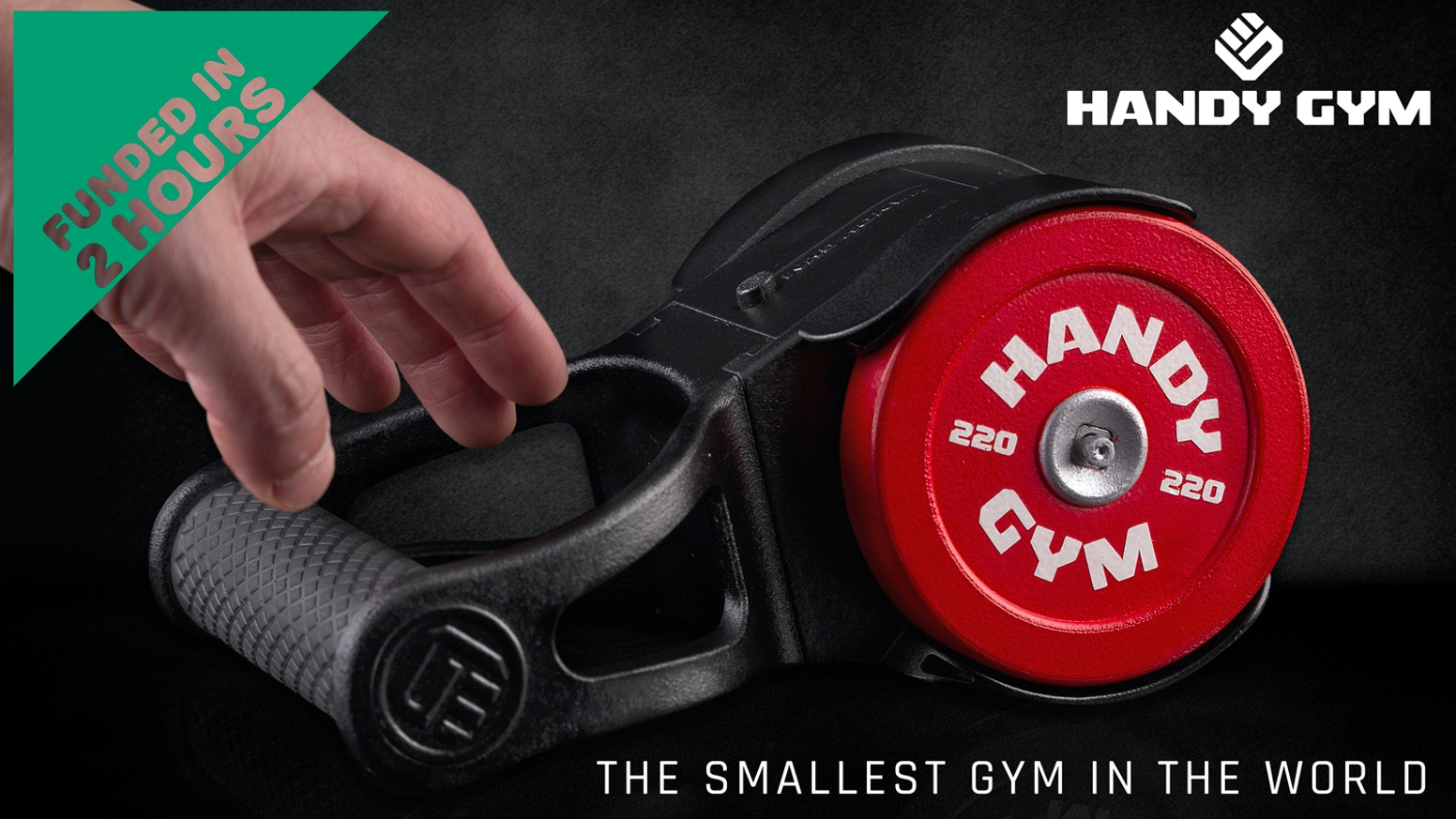 This campaign has been successfully founded. If you wish to purchase Handy Gym, click on the link below.
