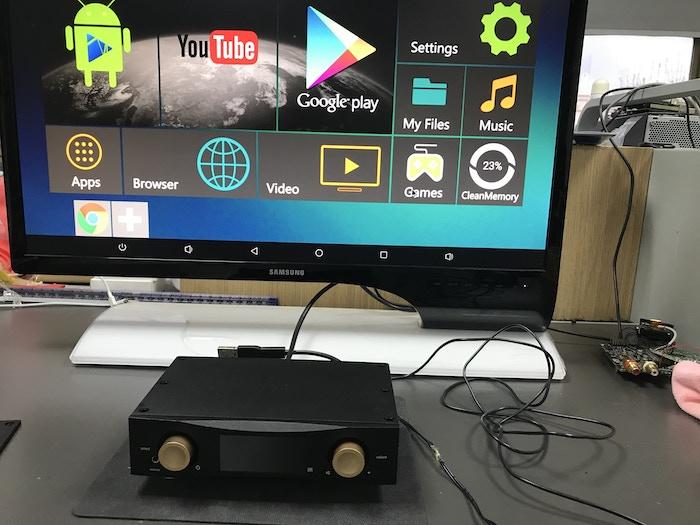MRz+ UHD Music Server as the digital hub in a high-end audio