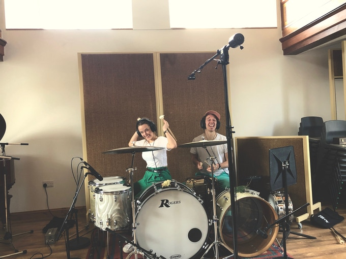 Lill and Toby in StudiOwz
