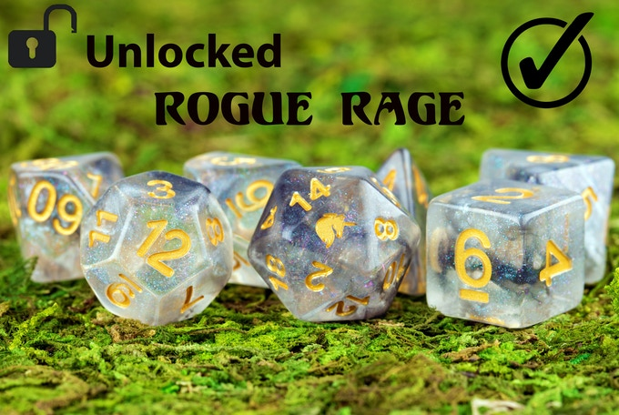 We unfortunately no longer have our prototype set of Rogue Rage so we are unable to make a video of this set.