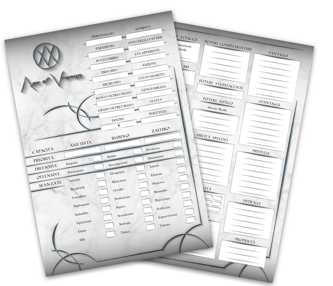 Action-Drives are a must-have tool for the Troubadour, designed for ease of reference and use