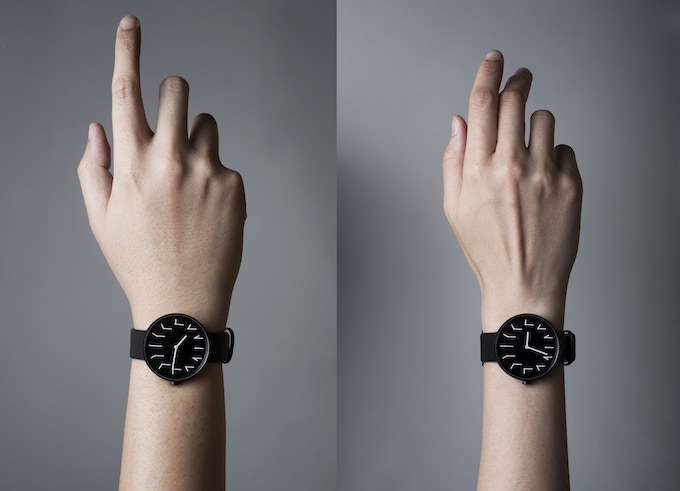 Redundant Watch fits any wrist size. Left (Men size) and Right (Women size).