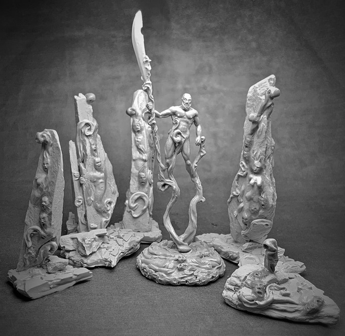 Doomed Souls Playset with Varpor for size (not inclued)