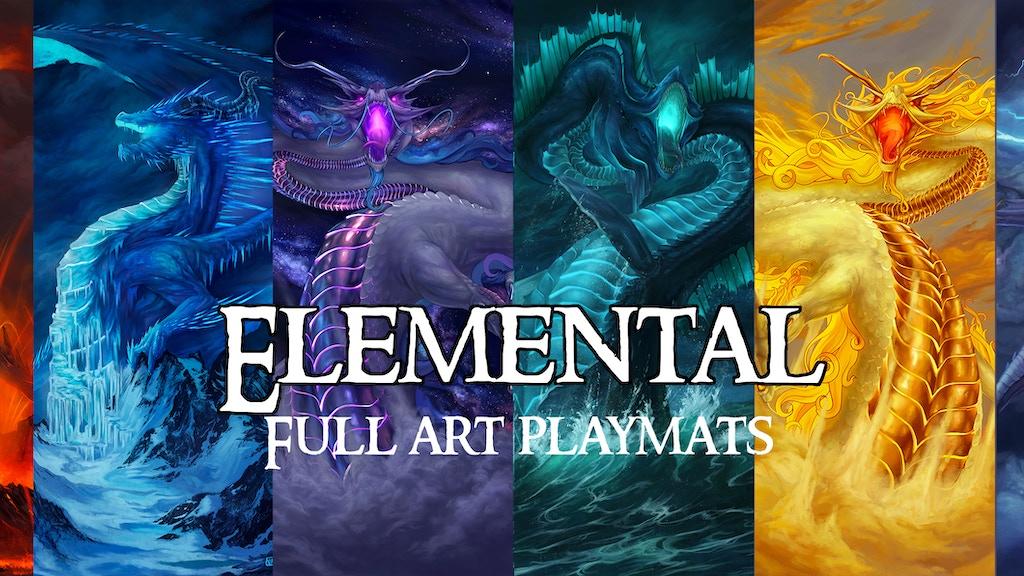 Elemental - full art playmats project video thumbnail