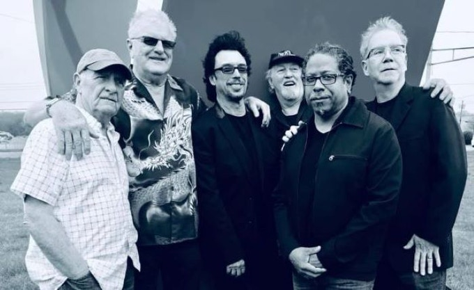 NEKTAR: Ron Howden, Derek Moore, Ryche Chlanda, Mick Brockett, Kendall Scott, Randy Dembo      Photo Credit: Jay Petsko