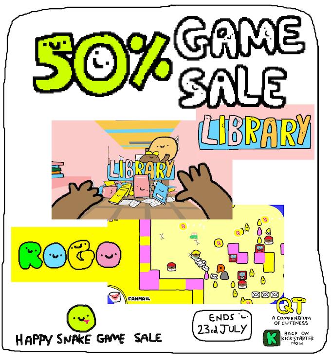 50% sale!