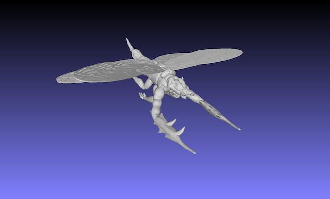 Renderig of the Flying Lancer