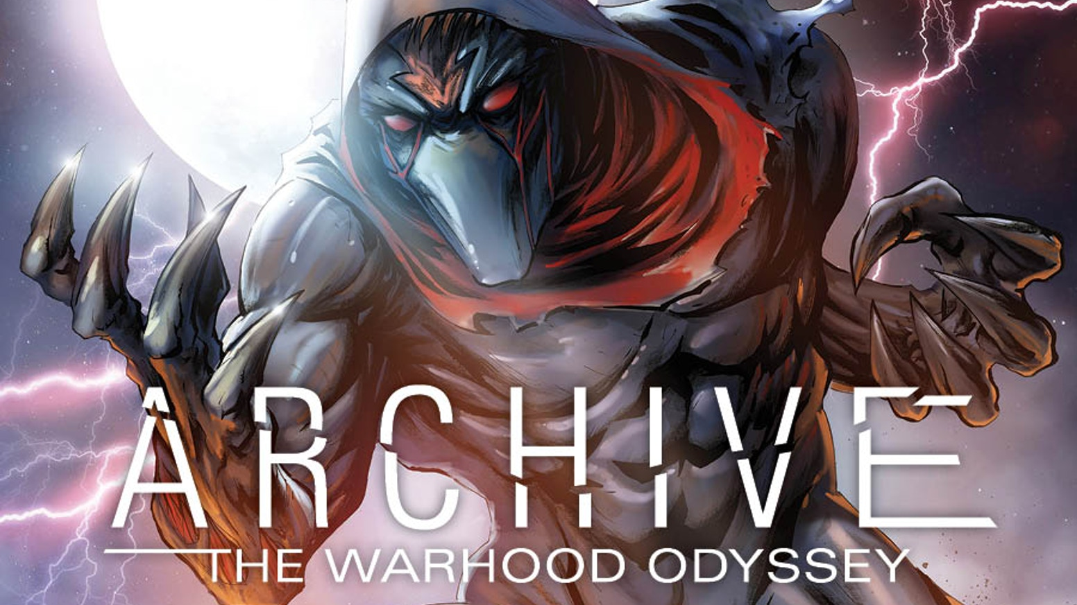 ARCHIVE The WarHood Volume TWO!  An unlikely hero is forced to use a futuristic weapon against its creator to save a dying planet.