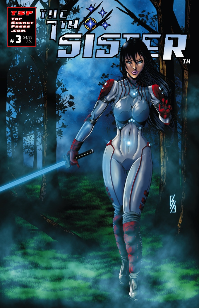The 7th Sister #3, Cover D by Steve Kupiszewski (Limited to 30 copies)