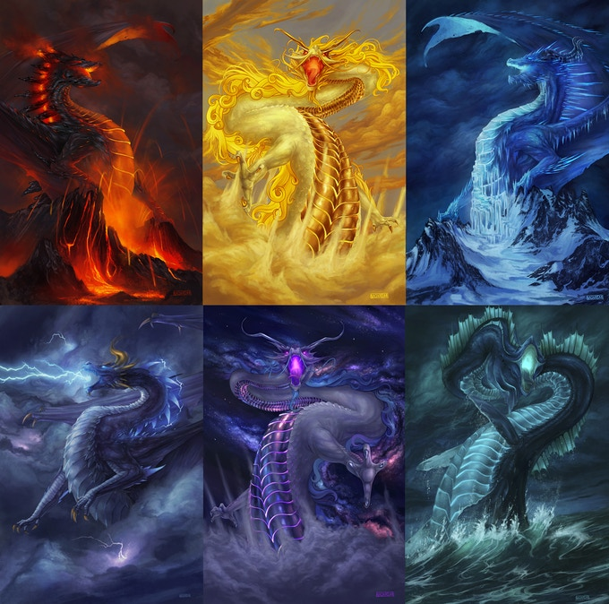 Look at those sexy Dragons