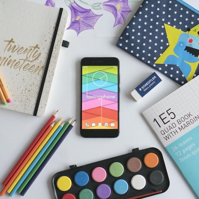 BoringPhone - The Minimalist Smartphone by Alex Davidson