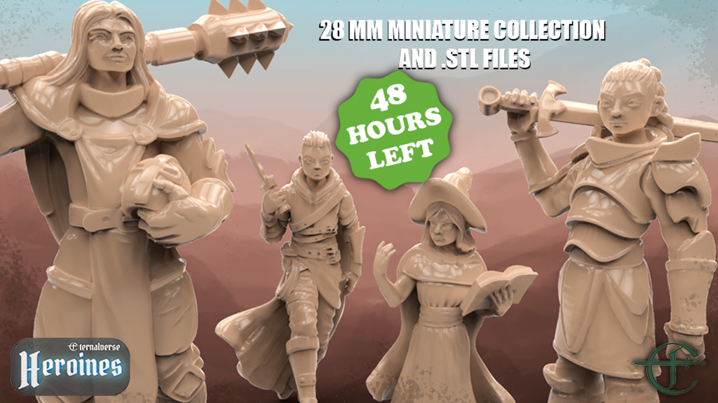 Project image for Eternalverse Heroines Miniature Collection