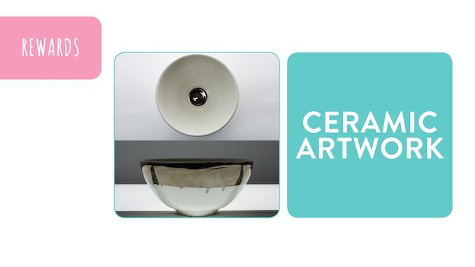 Reward - Nipple Bowl Ceramic Art Object: pledge £250