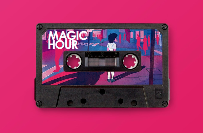 Cassette Collectible comes with digital download of the soundtrack included in the Magic Hour Sunrise rewards