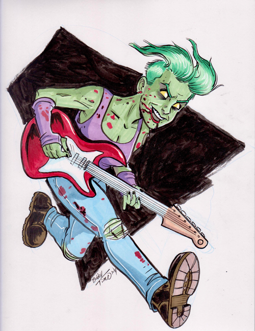 Pinup by Bobby Timony to be included in issue 1 and the TPB