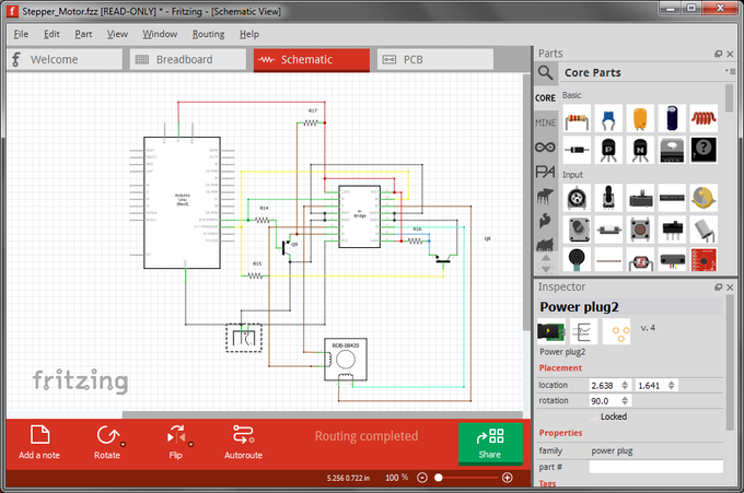 Project Schematic