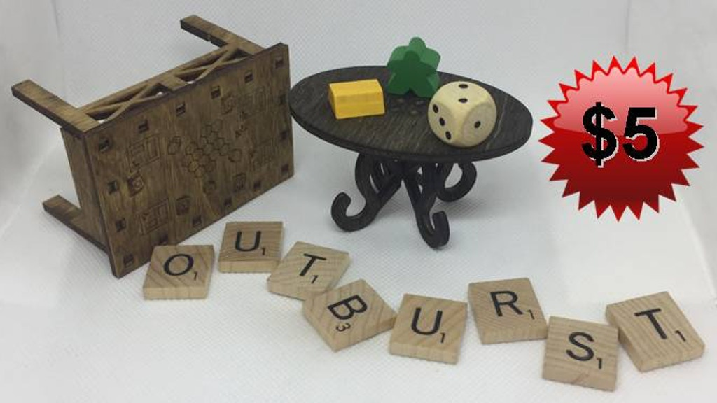 Outburst Boardgame Table project video thumbnail