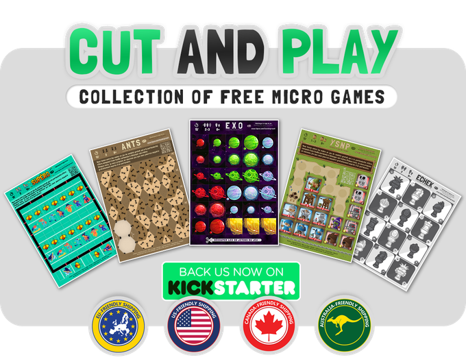 CUT AND PLAY - collection of free micro games : Season 2