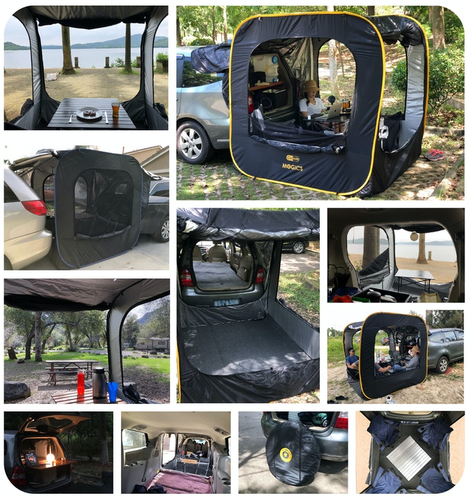 Carsule A Pop Up Cabin For Your Car By Mogics Kickstarter