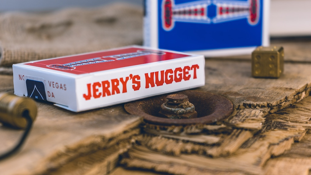 Authentic Jerry's Nugget Playing Cards project video thumbnail