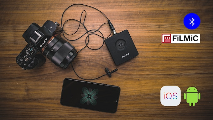 *Filmic and other 3rd party apps via Bluetooth HFP, Android later in 2019
