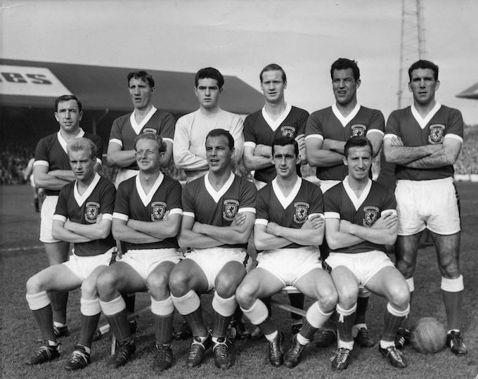 Wales v Scotland 20 October 1962