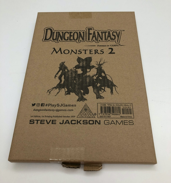 Mailer carton to protect the book in shipping.